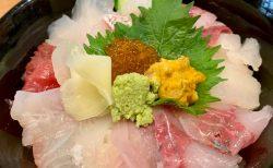 熊本のうまかもんがてんこ盛り「原田商店」の海鮮丼ランチ