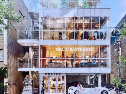 茶沢通りに新しい商業ビルがオープン予定