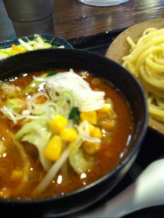 【閉店】三ツ矢堂製麺の味噌つけ麺