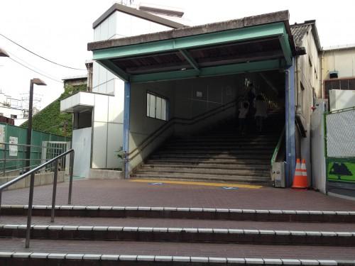 下北沢駅 旧駅舎解体作業始まる
