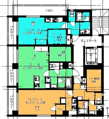 2014年秋季完成の新築賃貸マンション