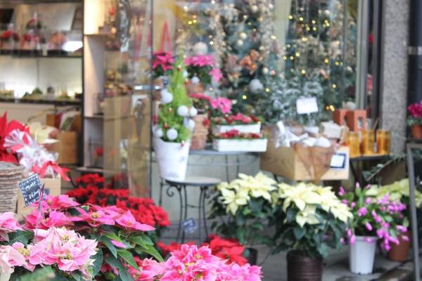 下北沢の街を彩る、クリスマスフラッグ2015