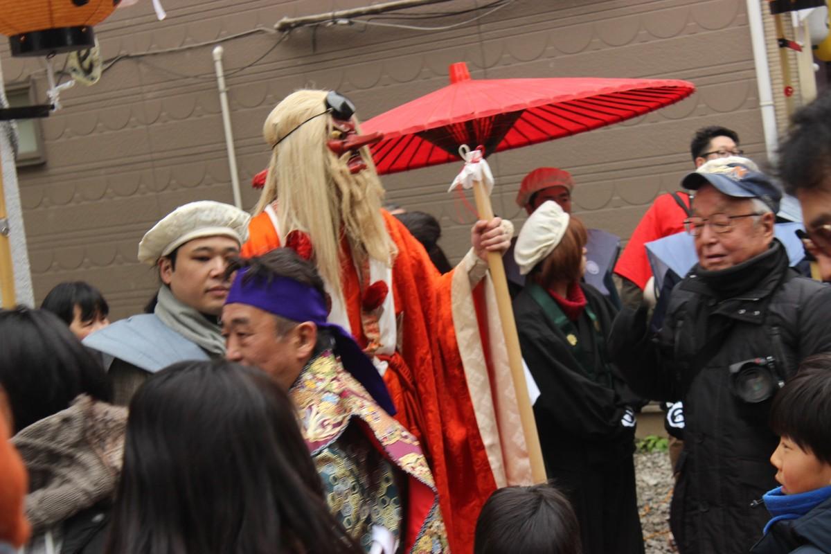 しもきた天狗まつり 2016/01/30