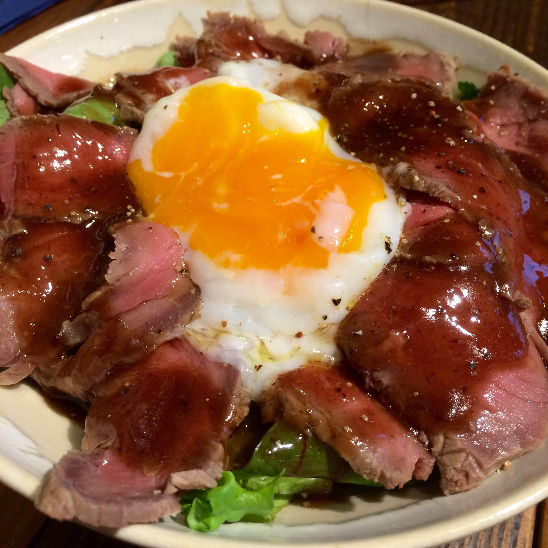 【一日限定5食】HAGAREのローストビーフ丼