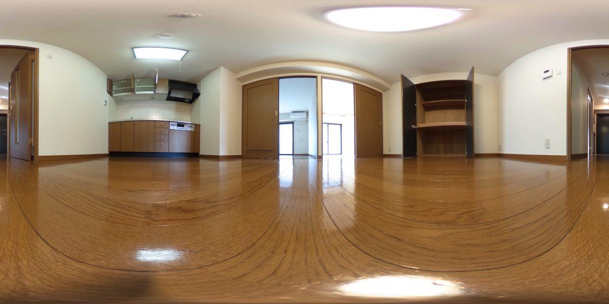 バウハウス秋城 201号室360°写真