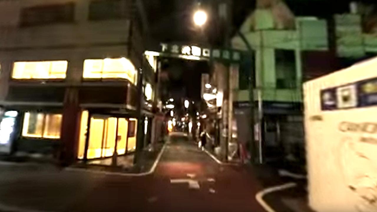 業務日誌 台風直後の下北沢 10月1日未明