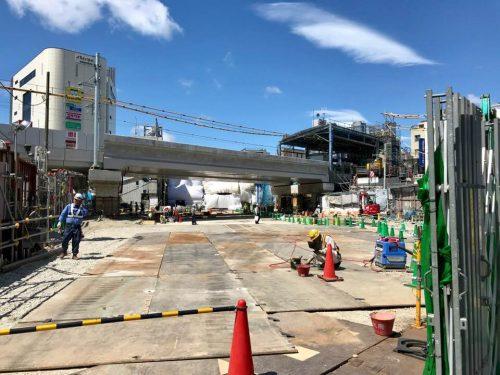 完成は平成30年度末! 下北沢の新しい玄関「東口・中央口」本格的に着工