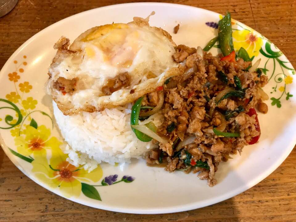 元気をチャージ! タイ料理「ティッチャイ」で旨辛ガパオライス
