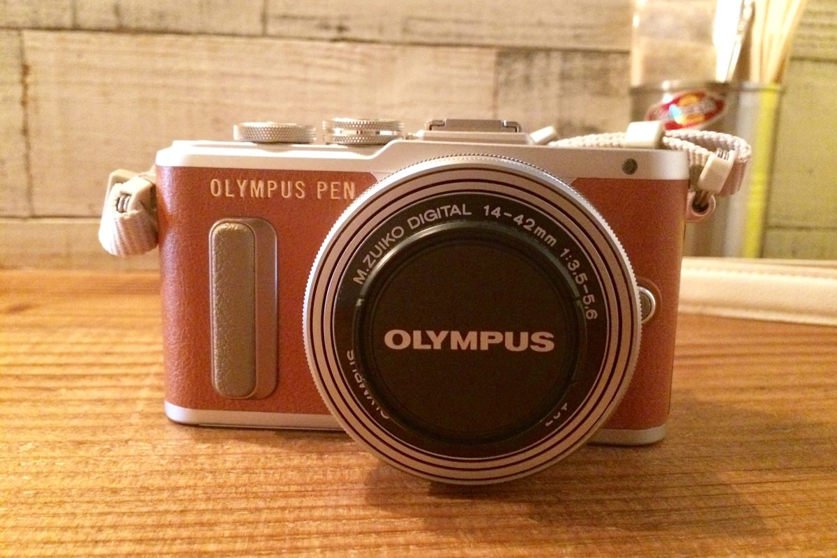 デジカメ「OLYMPUS PEN」を購入しました!