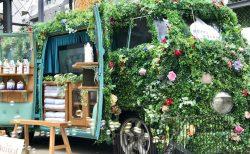 花の香りに包まれる!ダイアンボタニカルのキャンペーン@下北沢ケージ