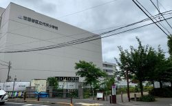 代沢小学校の改築工事、大詰め