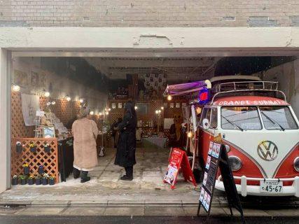週末だけのクリエイターマーケットが一番街栄通りに開店