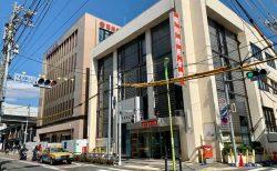 重厚で堅牢な佇まい「昭和信用金庫」新ビルがお披露目