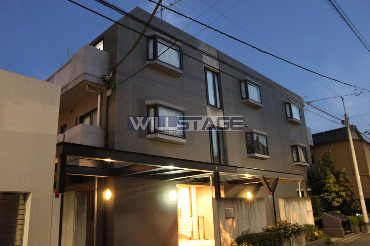 8万円代で2人入居可!『バウハウス秋城』105号室