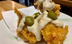韓国ソースで食べる唐揚げ「CRISPY CHICKEN n' TOMATO」下北沢上陸