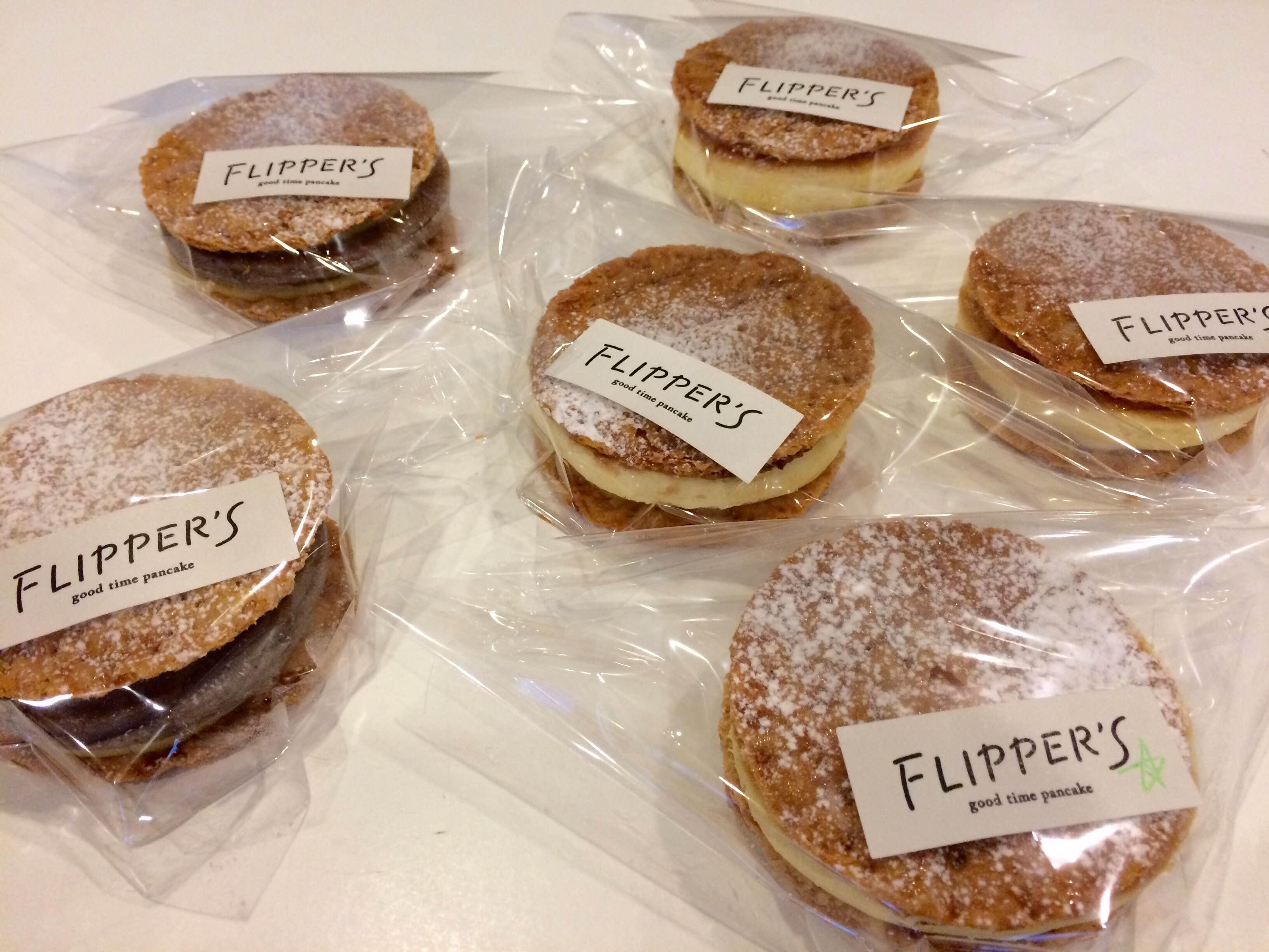 FLIPPER'Sのパンケーキをいただきました