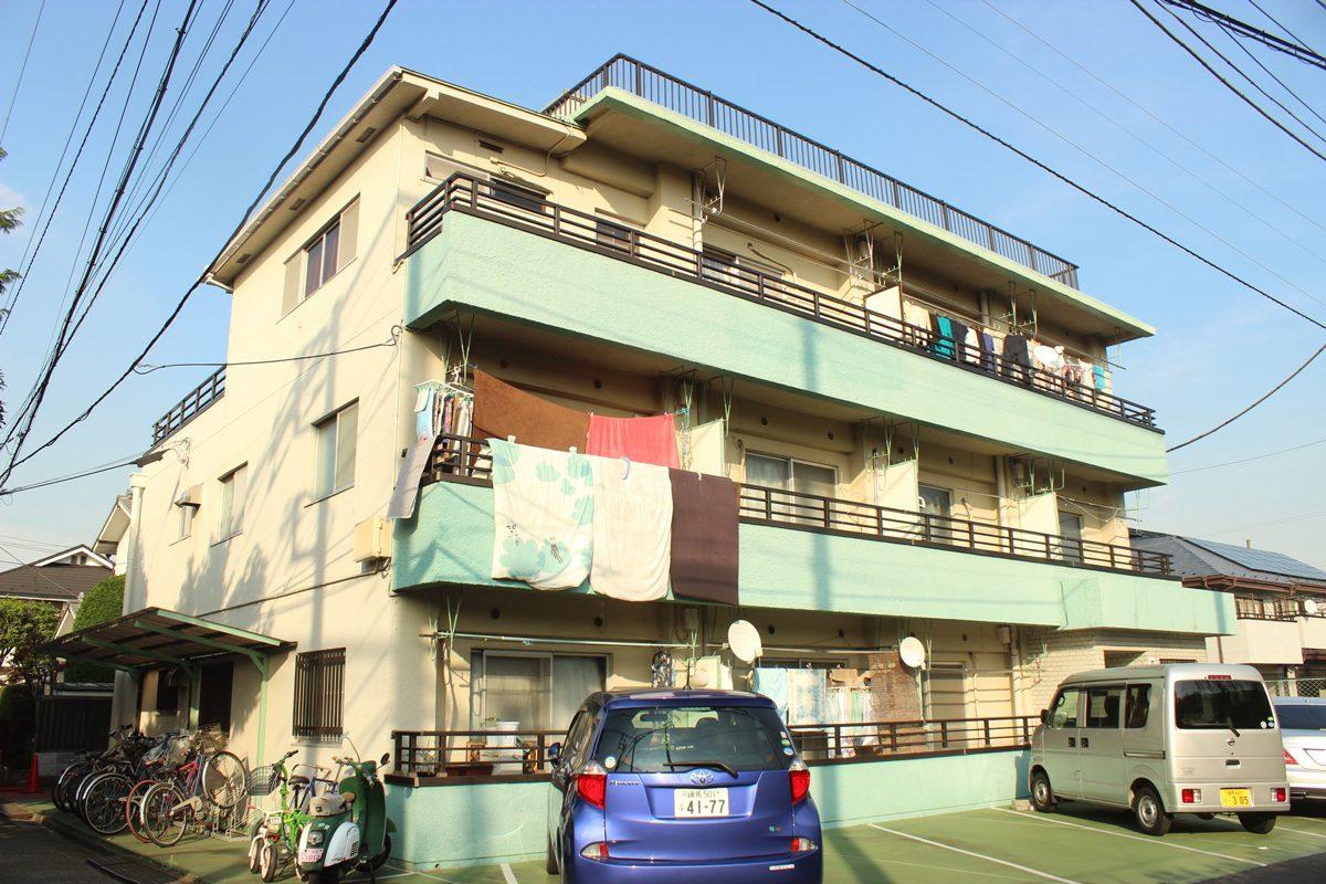 2人入居可!広めのお部屋をお探しなら『前田マンション』201号室