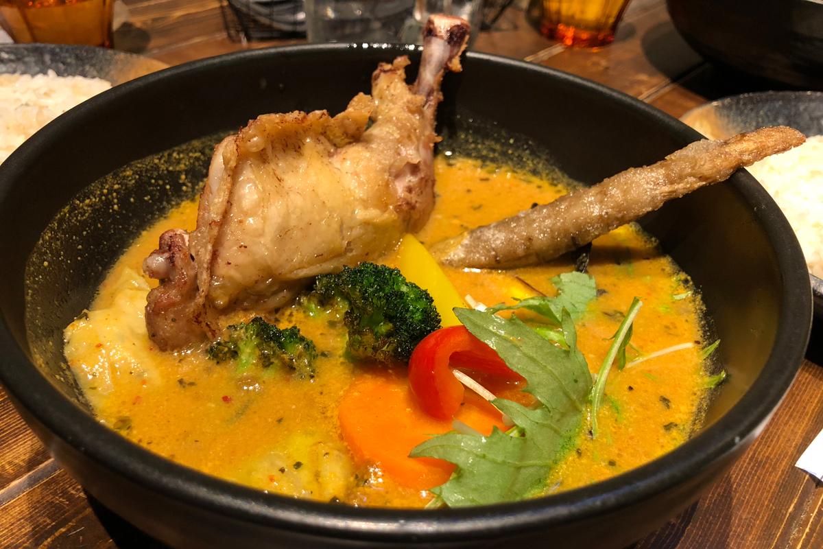 身体の芯まで温まる「Rojiura Curry Samurai」