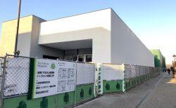 下北沢〜東北沢間の小田急線跡地の商業施設、建築が大分進んできました💡