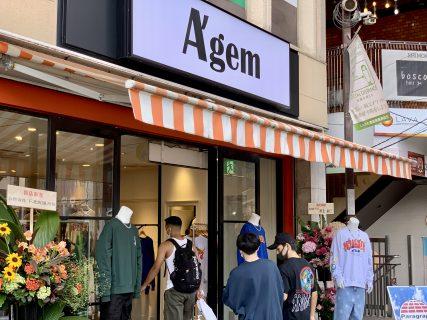 韓国ファッションが下北沢に上陸「A'gem」オープン