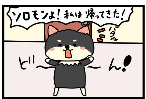 漫画第4話 民泊