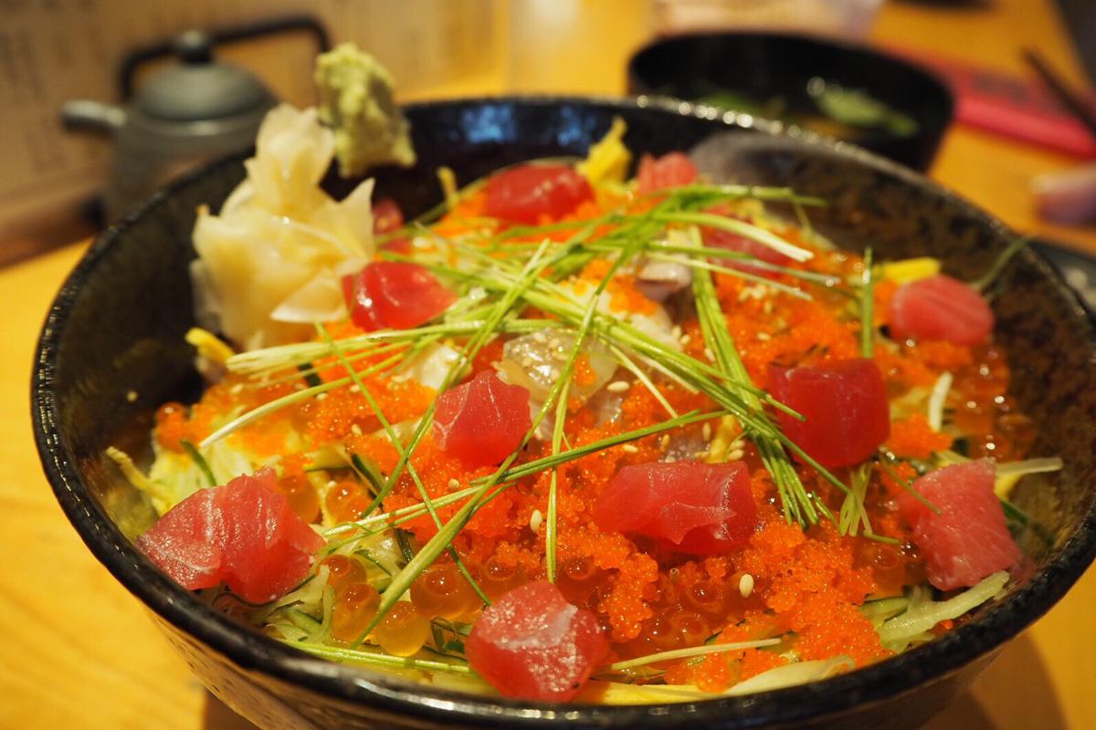 「すし屋 魚真」でサッパリ海鮮ランチ☆