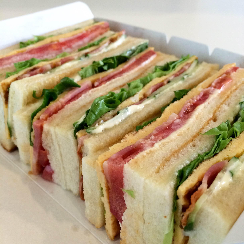 mspinの特製サンドウィッチ、販売スタート!