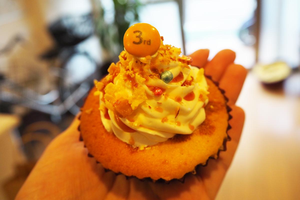カップケーキ専門店「ON THE WAY」3rd Anniversary★20180314
