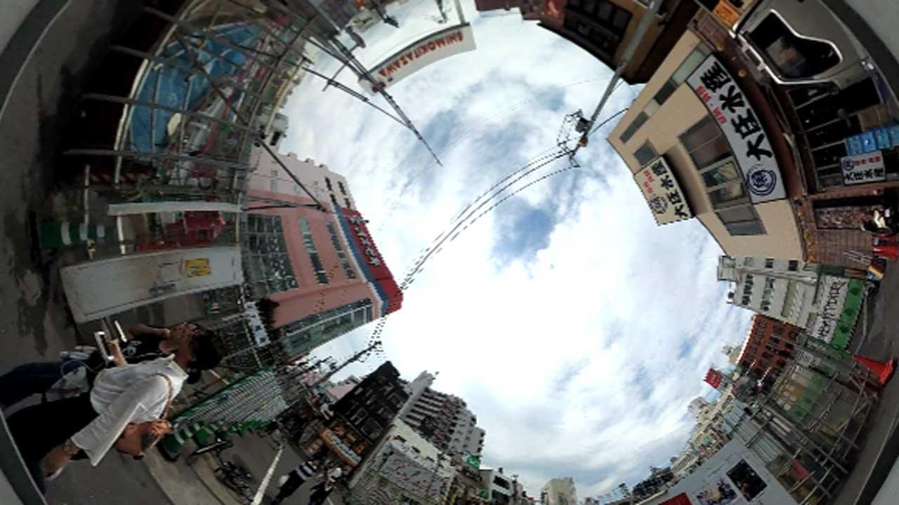 久しぶりの下北沢360°動画です