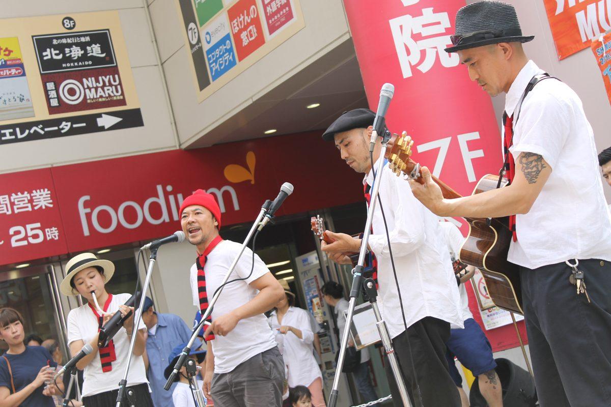 街中に歌声が響き渡る!第26回下北沢音楽祭