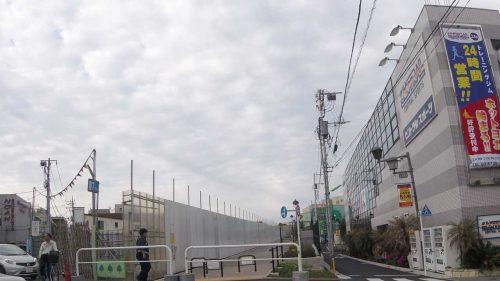 小田急線跡地の歩道がオープン