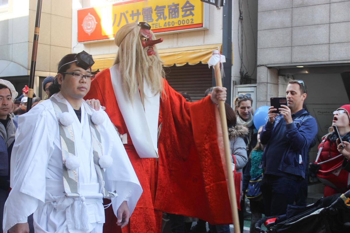 「天狗まつり」今年度は小田急線跡地で開催