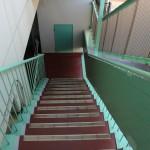 階段部分。(外観)