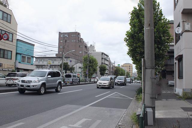環七新代田付近