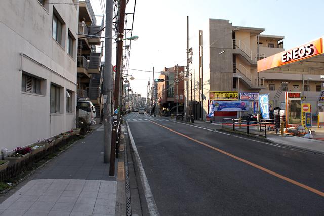 代沢4丁目_梅ヶ丘通り-(2)