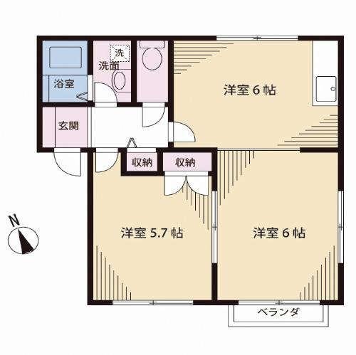 41.40平米(間取)