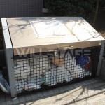 ゴミ集積BOX。