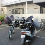 駐輪場、駐車場、バイク置き場有り。空き状況は弊社へお問い合わせ下さい。