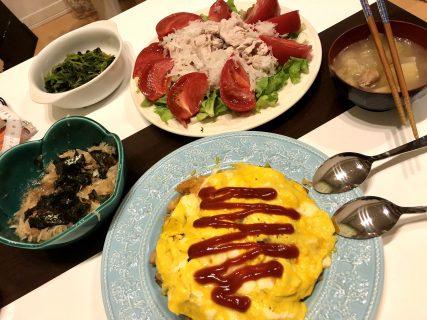 自粛中、おうち時間でこんな料理作ってみました