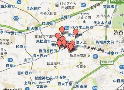 早すぎる新築物件の情報マップ