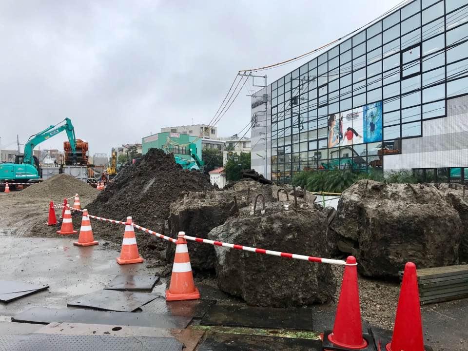 小田急線の工事現場をちょっとだけ覗いてみたよ