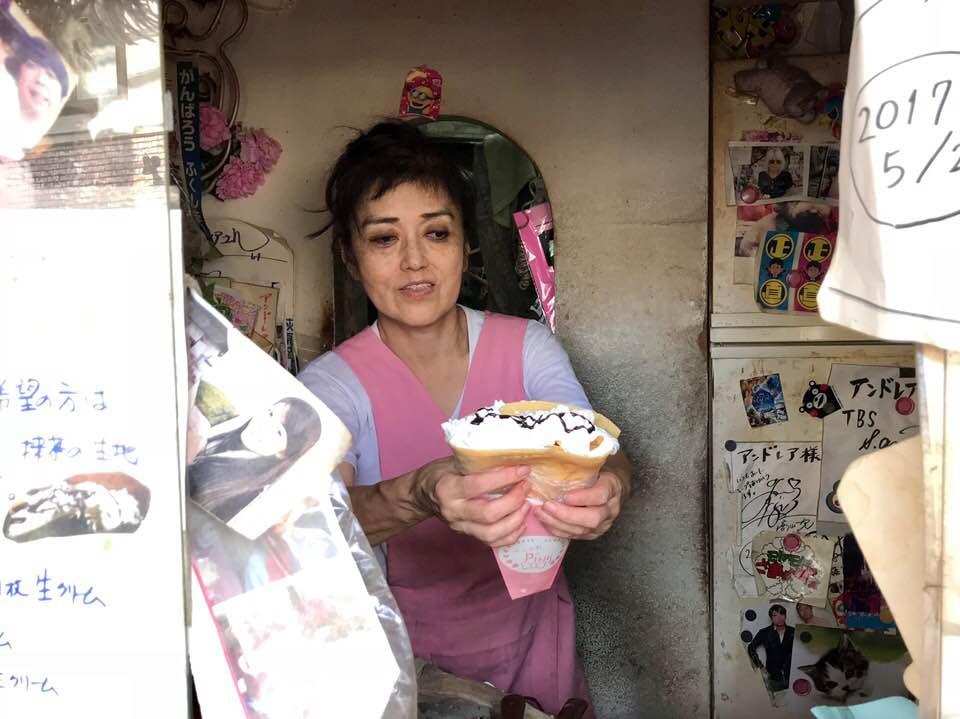 あのアイドルも食べた乙女の味♡下北沢クレープの老舗「アンドレア」
