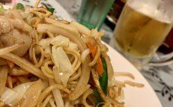 焼き目パリッと、麺がもちっと「上海焼きそば」がうまい!
