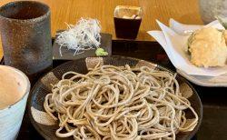 こだわりの九割蕎麦と上品な天ぷら、「打心蕎庵」で暑気払い