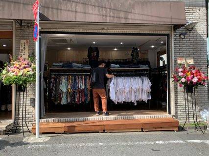 古着ショップ「エリア22 GATE WAY」が福のから近くの路面に6/26(土)オープン!
