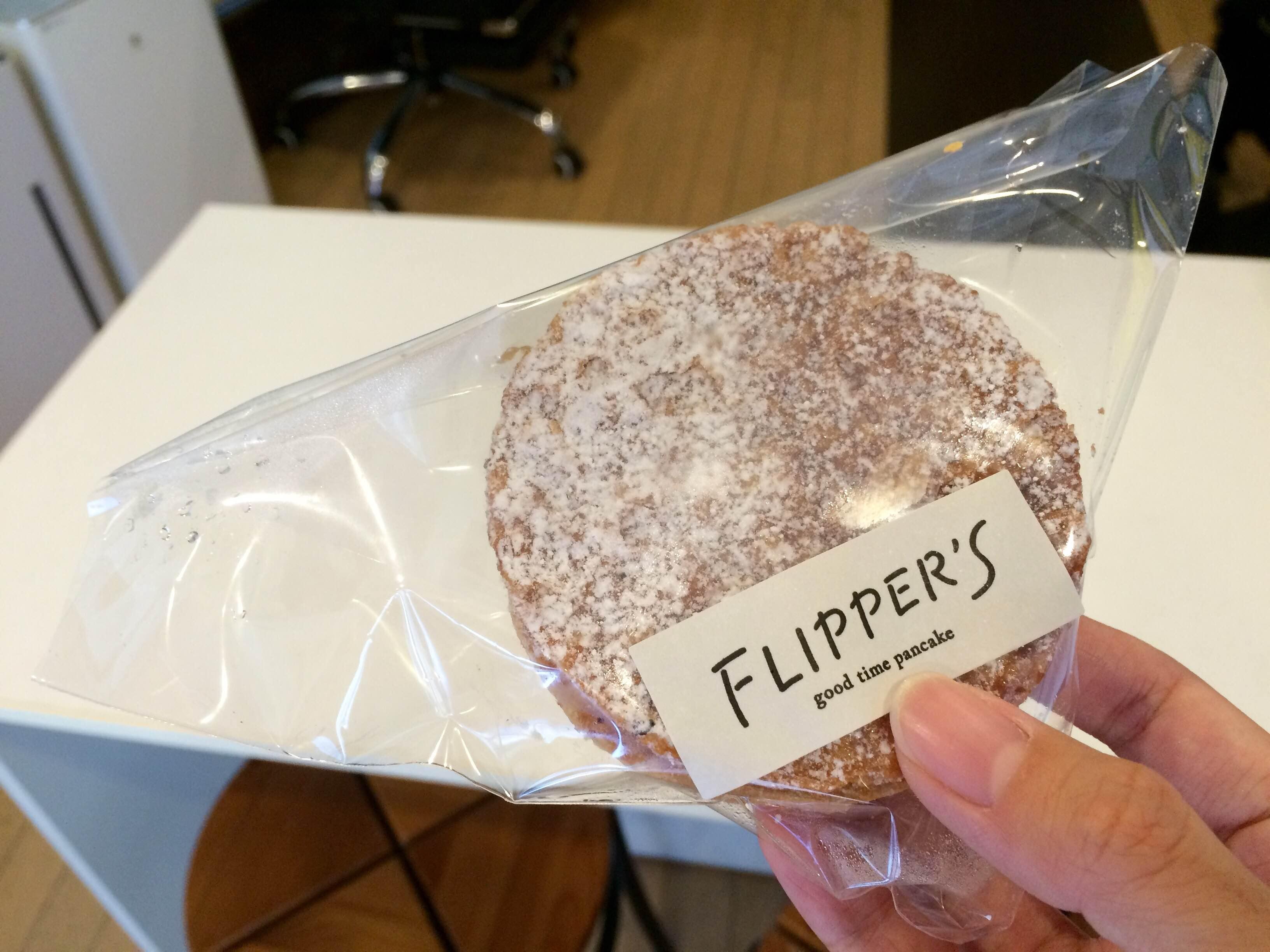 話題のパンケーキ店「FLIPPER'S」のパンケーキパイ