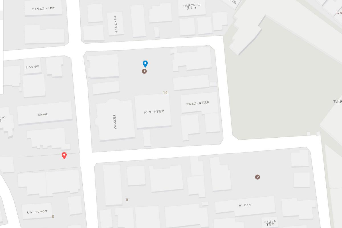 下北沢の駐車場事情