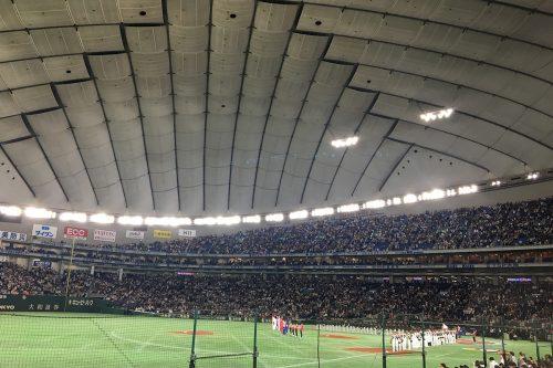 昨日はWBC 日本対オーストラリア戦を観てきました