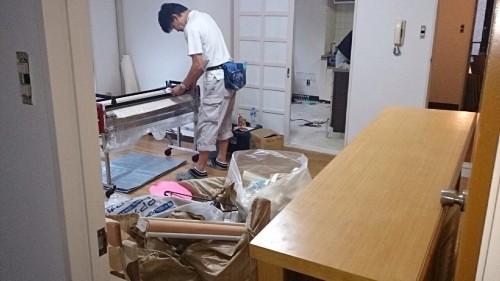 太郎ハウス2階 予定では今週で内装工事終了