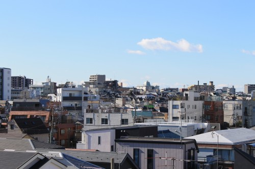 富士山くっきり!眺望も設備も周辺環境も欠点なしの「プレミール中延」